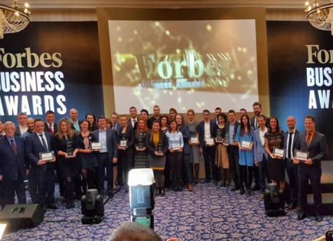 TESYpremiu prestigios de la concursul Forbes Business Awards 2016
